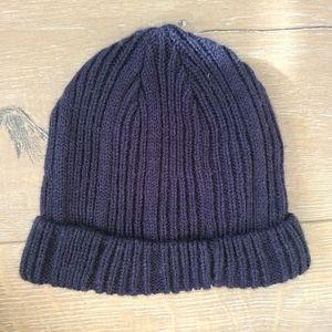 (3/$15) Zara Navy Baby Winter Hat